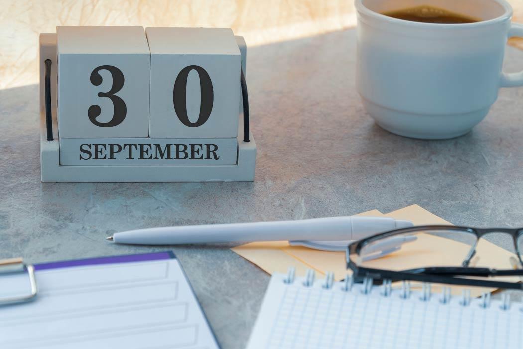 30 september